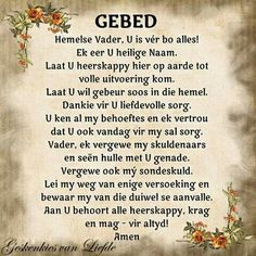 prayer in afrikaans - Yahoo Search Results Yahoo Image Search Results Pray Quotes, Bible Verses Quotes, Prayer Times, Prayer Verses, Inspiring Quotes About Life, Inspirational Quotes, Motivational, Afrikaanse Quotes, Goeie Nag