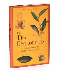 The Tea Cyclopedia Hardcover #zulily #zulilyfinds