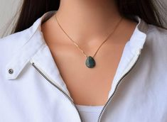 Bewitching Best Collection of Necklaces Ideas. Stunning Best Collection of Necklaces Ideas. Dainty Gold Necklace, Green Necklace, Stone Necklace, Pendant Necklace, Layered Necklace, Hematite Necklace, Angel Wing Earrings, Green Agate, Gifts For Friends