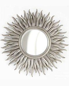 """Зеркало в раме """"Фелиция"""" (soho silver)"""