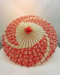 Umbrella Painting, Umbrella Art, Under My Umbrella, Paper Umbrellas, Umbrellas Parasols, Paper Lanterns, Kabuki Dance, Insect Art, Japanese Textiles