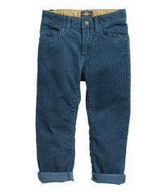 Teal Corduroy Pants | H&M US
