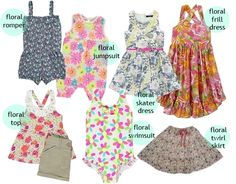Essential Floral Prints for Kids Girls