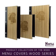 Perfect for achieving a rustic appearance, Wood and Bamboo Menu Covers by Menu Designs are available in numerous sizes and styles. Bamboo Restaurant, Restaurant Menu Design, Restaurant Food, Bamboo Menu, Wood Menu, Menu Covers, Spa Menu, Cherry Red, Marketing Tools