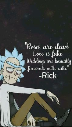 Rick And Morty Quotes, Rick And Morty Poster, Rick And Morty Meme, Art Chanel, Ricky Y Morty, Rick And Morty Drawing, Funny Quotes, Funny Memes, Hilarious