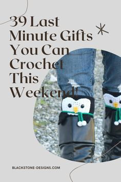 39 Last Minute Gifts You Can Crochet This Weekend from Blackstone Designs #crochet #crochetpatterns #giftguide #crochetgifts #quickandeasycrochet #crochetgiftguide #crochetinaweekend #christmas #christmascrochet