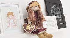 Boneca Sofia por Viviane Simioni – projetosfabricart.com.br