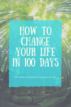 How to change your life in 100 days. # self-development # reinventing yourself How long does it take to change your life? A few minutes or several years. Here is a list of ideas to change your life in 100 days Transform Your Life, Turn Your Life Around, Time Of Your Life, Live Your Life, Go For It, Lob, Change My Life, Change Your Life Quotes, Self Improvement Tips