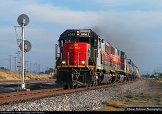 RailPictures.Net Photo: UTAH 6063 Utah Railway Company EMD SD50S at Salt Lake City, Utah by James Belmont