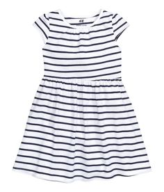 CONSCIOUS. Dress in an organic cotton | H&M Kids