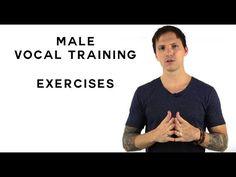 Vocal Training Exercises Male - YouTube