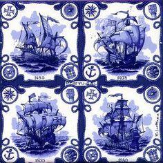 AZULEJO is a Portuguese word used to denote a square plaque of ceramic material… Portuguese Culture, Portuguese Tiles, Ceramic Tile Art, Mosaic Tiles, Im Blue, Blue And White, Antique Tiles, Blue Tiles, Iron Work