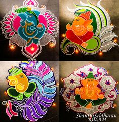 Rangoli Designs Latest, Rangoli Designs Flower, Rangoli Patterns, Rangoli Ideas, Rangoli Designs Diwali, Diwali Rangoli, Beautiful Rangoli Designs, Welcome Home Decorations, Diwali Decorations