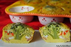 Mini-quiche surprise avec arbre magique intégré! Quiche, Guacamole, Food Inspiration, Kids Meals, Broccoli, Cauliflower, Muffin, Snacks, Vegetables