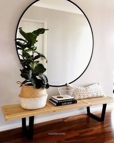 Check out this I've always been a big fan of mirrors. Especially round ones, they are excellent Feng Shui. Lately, with the emergence of Restoration Hardware modern, large scale round mirrors have popped up everywhere and are huge in interior design and decorating. In the workshop ..