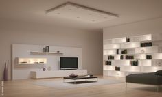Modern Home Interior Design Lighting Decoration And Furniture ...