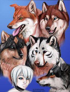Wolf's Rain NG Gang by NatsumeWolf on DeviantArt
