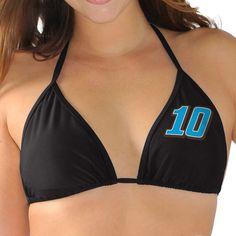 Danica Patrick G-III 4Her by Carl Banks Women's Fuel Pump Bikini Top - Black