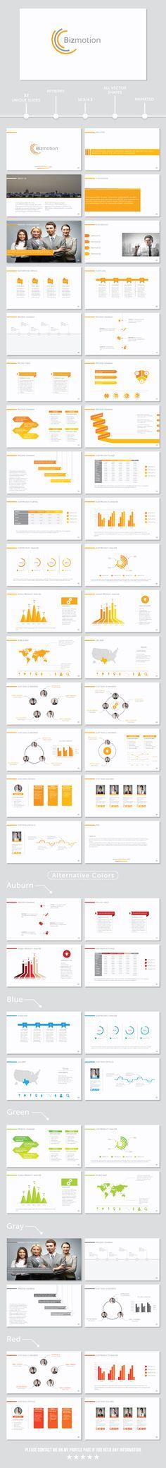 BizMotion PowerPoint Presentation Template #infographic #portfolio #sleek • Click here to download ! http://graphicriver.net/item/bizmotion-powerpoint-presentation-template/10565383?s_rank=668&ref=pxcr