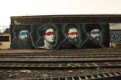 tortugas ninja artistas graffiti - Buscar con Google