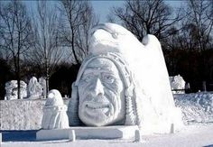 If you haven't experienced Lake George in the winter, you're missing out on winter sports, ice bars. cozy nights by the fireplace and more! Snow Sculptures, Sculpture Art, Winter Art, Winter Snow, Quebec Winter Carnival, Ice Art, Snow Art, Snow And Ice, Lake George