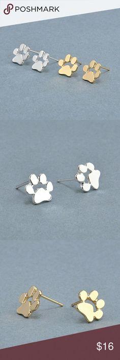 5 for $25 Paw Stud Earrings Paw Stud Earrings Jewelry Earrings