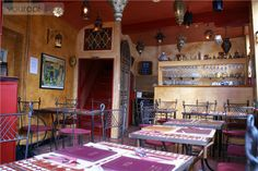 Sarabande | Small Moroccan eatery with a tasteful interior serving tajine, couscous, salads and a vast selection of Arab wines.