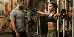 Alicia Vikander has some pretty big shoes to fill as she embodies Lara Croft in Warner Brother's new film Tomb Raider. The character was formerly played by Angelina Jolie. Gym Workout Plan For Women, Workout Plan For Beginners, Tomb Raider Alicia Vikander, Alicia Vikander Lara Croft, Alicia Vikander Hair, Angelina Jolie, Personal Trainer, Tomb Raider Movie, Crossfit
