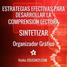Estrategias Efectivas para Desarrollar la Comprensión Lectora – SINTETIZAR