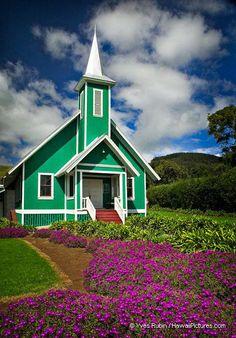 Ke Ola Mau Loa Church - Waimea