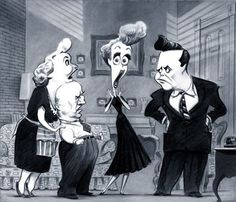 I love Lucy Caricature