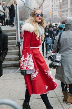 New York Fashion Week Fall 2016 street style Street Style 2016, Street Chic, New York Fashion, Fashion News, Tokyo Fashion, Fashion Moda, Trends 2016, Cow Girl, Vogue