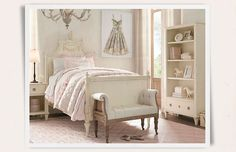 Rooms | Restoration Hardware Baby & Child. I wish my girls liked this, but not so much.
