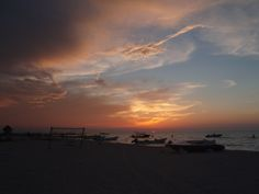Sunset Isla Holbox Mexico