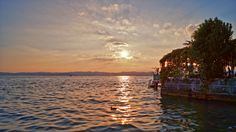 Sonnenuntergang am Gardasee (HDR) Hdr, Celestial, Sunset, Outdoor, Photos, Lake Garda, Sunsets, Outdoors, Outdoor Games