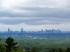 Boston Skyline from Blue Hill