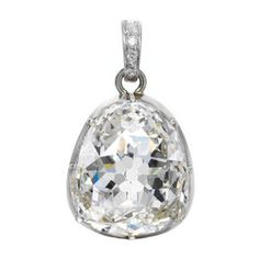 The Beau Sancy Diamond #sothebysatauction If you see an image that is posted in error, please let us know and we will remove it.  Thank you.