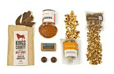 A curated box of great artisanal food from Brooklyn