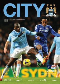 COVER STAR: Yaya Toure adorns the #cityvchelsea programme cover, available from the game tomorrow!