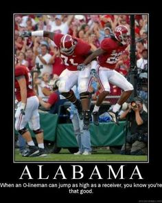 Alabama football. ROLL TIDE!