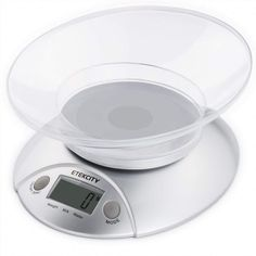 Etekcity Digital Kitchen Food Scale and Multifunction Weight Scale with Removable Bowl, 11 lb - Gran Cooking Equipment, Food Service Equipment, Food Bowl, A Food, Food Prep, Food Tips, Kitchen Weighing Scale, Digital Food Scale, Digital Kitchen Scales
