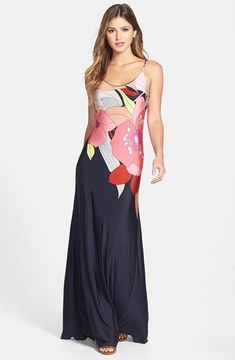 Trina Turk 'Tahiti' Print Jersey Maxi Dress on shopstyle.ca
