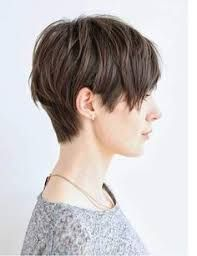 Image result for pixie cut before and after pictures