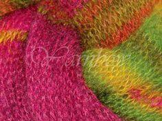 Rowan ::Kidsilk Haze Stripe #205:: mohair silk yarn Circus #Rowan