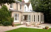 Glazed Timber Orangery in Oxfordshire Westbury Gardens, Conservatories, Pool Houses, Home Goods, Kitchens, Stitch, Mansions, Cool Stuff, House Styles