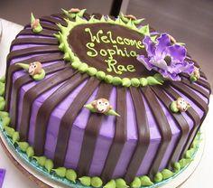Trifles' Baby Monkey Baby Shower Cake