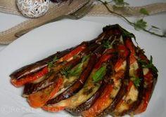 VINETE EVANTAI Ratatouille, Mozzarella, Bacon, Breakfast, Ethnic Recipes, Food, Morning Coffee, Essen, Meals