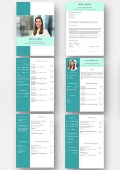 3cdb5c06400d15 Bewerbungsvorlage Premium Mint für viel Berufserfahrung  Download