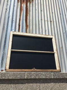 Reclaimed Wood Chalkboard Chalkboard Sign by WallStarGraphics