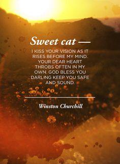 Winston Churchill to Clementine Churchill